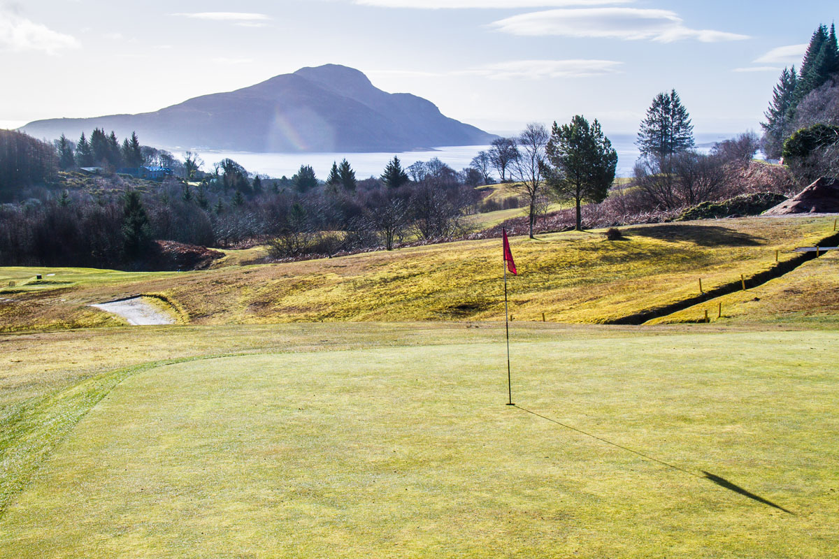 LAMLASH  GOLF CLUB 4TH GREEN